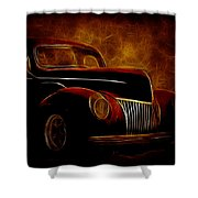 Ford Glow Shower Curtain