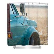 Ford Grain Truck Shower Curtain