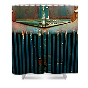 Ford Grille Shower Curtain