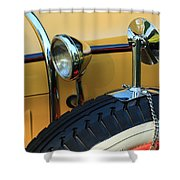 Ford Model A Shower Curtain