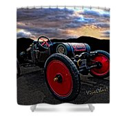 Ford Model T Racer Beat The Storm Home Shower Curtain