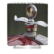 Ford Modell T Ornament Shower Curtain by Heiko Koehrer-Wagner
