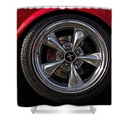 Ford Mustang Fastback Shower Curtain