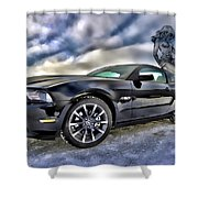 Ford Mustang - Featured In Vehicle Eenthusiast Group Shower Curtain