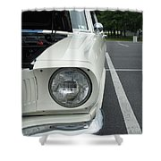 Ford Mustang Gt 350 Looking Back Shower Curtain