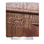 Ford Name Plate Shower Curtain