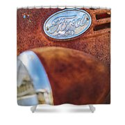 Ford Panel Shower Curtain