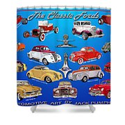 Another Ford Poster Shower Curtain