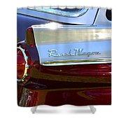Ford Ranch Wagon Shower Curtain