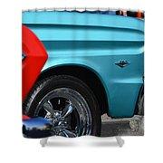 Ford Rancheros Shower Curtain