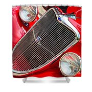 Ford Roadster V8 Shower Curtain