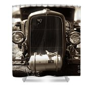 Ford Rod Shower Curtain