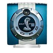 Ford Shelby Gt 500 Cobra Emblem Shower Curtain