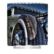 Ford Street Rod Shower Curtain