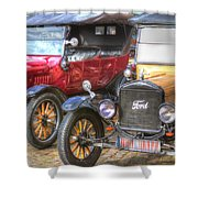 Ford-t  Mobiles Of The 20th Shower Curtain