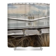 Ford Tail Lights 2 Shower Curtain