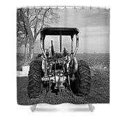 Ford Tractor Rear View Shower Curtain