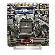 Ford Vintage 29 Shower Curtain