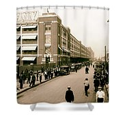 Ford Work Shift Change - Detroit 1916 Shower Curtain