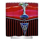 Ford's V8 Shower Curtain