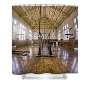 Fordyce Bathhouse Gymnasium - Hot Springs - Arkansas Shower Curtain