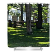 Fore Fathers Shower Curtain