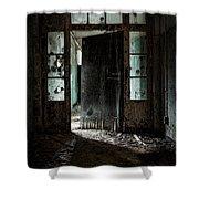 Foreboding Doorway Shower Curtain