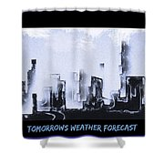 Forecast Shower Curtain