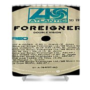 Foreigner Double Vision Side 1 Shower Curtain