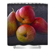 Forelle Pears Shower Curtain
