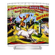 Forepaugh And Sells The Orfords Shower Curtain