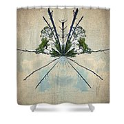 Forest Bouquet Wee Planet Shower Curtain