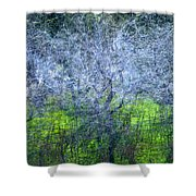 Forest City Shower Curtain