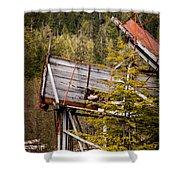 Forest Coveyor Shower Curtain