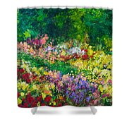 Forest Garden Shower Curtain