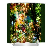 Forest Goddess 4 Shower Curtain