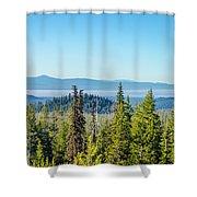 Forest Landscape Shower Curtain