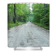 Forest Lane Shower Curtain