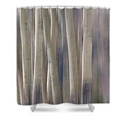 Forest Of Dreams 2  Panorama Shower Curtain