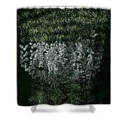 Forest On The Mountainside Shower Curtain