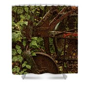 Forest Reclaimed Shower Curtain by Jack Zulli