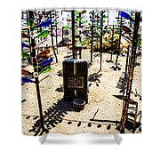 Forest Resident Shower Curtain