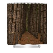 Forest Soldiers... Shower Curtain
