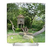 Forest Tale Shower Curtain