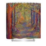 Forest Tunnel Shower Curtain