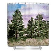 Forest's Edge Shower Curtain