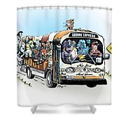 Forever Homeward Shower Curtain
