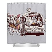 Forever Homeward Version Two Shower Curtain