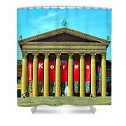 Forever Stairs Shower Curtain