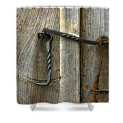 Forged Locks Shower Curtain